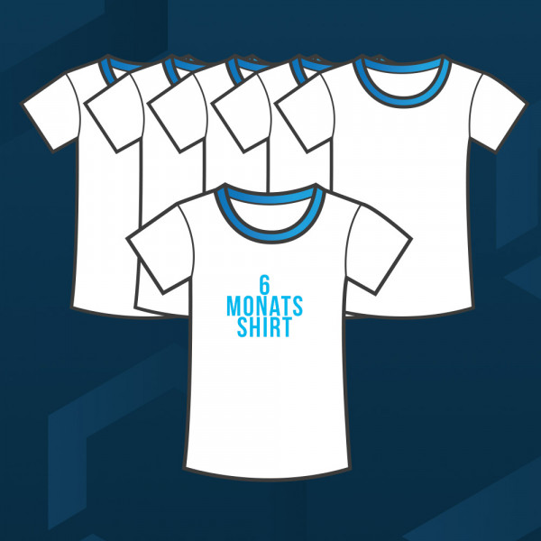 T-Shirt 6 Monatsabo