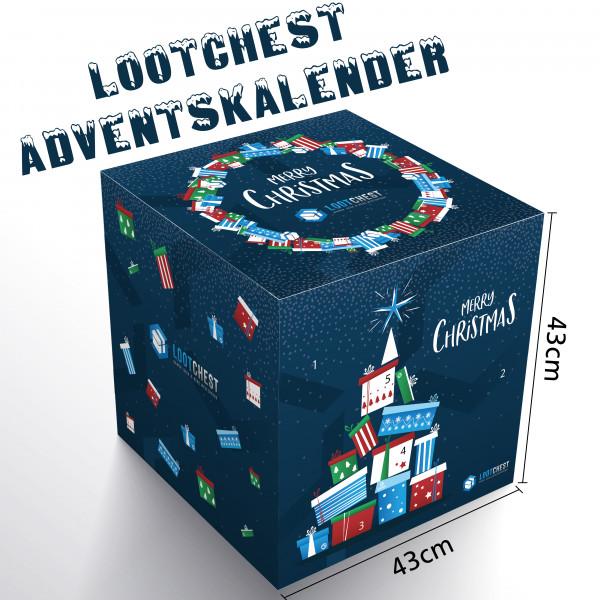 lootchest Adventskalender 2018 ausverkauft